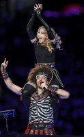 Madonna at the Super Bowl Halftime Show - 5 February 2012 - Update 2 (48)