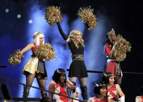 Madonna at the Super Bowl Halftime Show - 5 February 2012 - Update 3 (4)