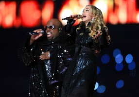 Madonna at the Super Bowl Halftime Show - 5 February 2012 - Update 3 (12)