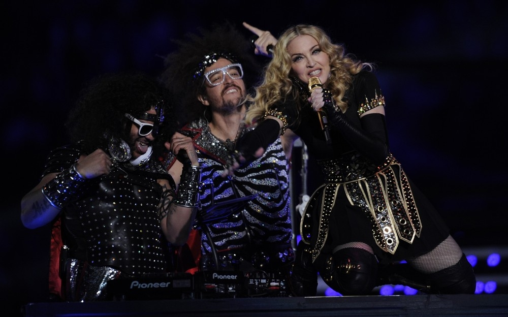 Madonna S Super Bowl Performance 5 February 2012 Hq