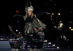 Madonna at the Super Bowl Halftime Show - 5 February 2012 (13)