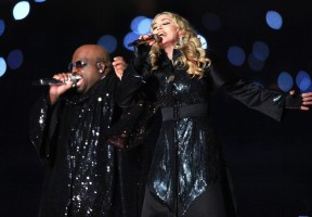 Madonna at the Super Bowl Halftime Show - 5 February 2012 - Update 3 (26)