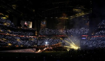 Madonna at the Super Bowl Halftime Show - 5 February 2012 - Update 3 (36)