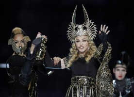 Madonna at the Super Bowl Halftime Show - 5 February 2012 - Update 3 (44)