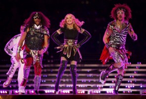 Madonna at the Super Bowl Halftime Show - 5 February 2012 - Update 3 (48)