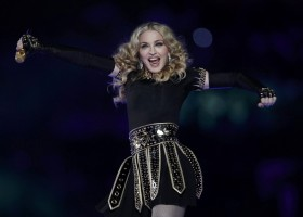 Madonna at the Super Bowl Halftime Show - 5 February 2012 - Update 3 (54)