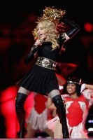 Madonna at the Super Bowl Halftime Show - 5 February 2012 (16)