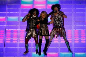 Madonna at the Super Bowl Halftime Show - 5 February 2012 - Update 3 (58)