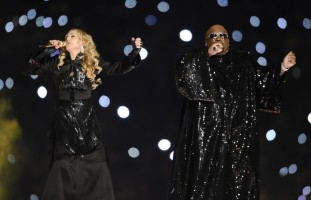 Madonna at the Super Bowl Halftime Show - 5 February 2012 - Update 3 (66)
