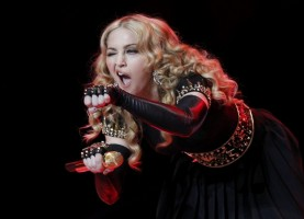 Madonna at the Super Bowl Halftime Show - 5 February 2012 - Update 3 (67)