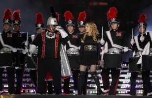 Madonna at the Super Bowl Halftime Show - 5 February 2012 - Update 3 (80)