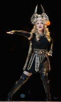 Madonna at the Super Bowl Halftime Show - 5 February 2012 (19)