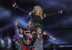 Madonna at the Super Bowl Halftime Show - 5 February 2012 - Update 3 (91)
