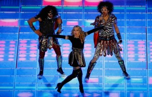 Madonna at the Super Bowl Halftime Show - 5 February 2012 (20)