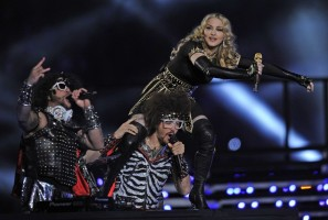 Madonna at the Super Bowl Halftime Show - 5 February 2012 - Update 3 (95)