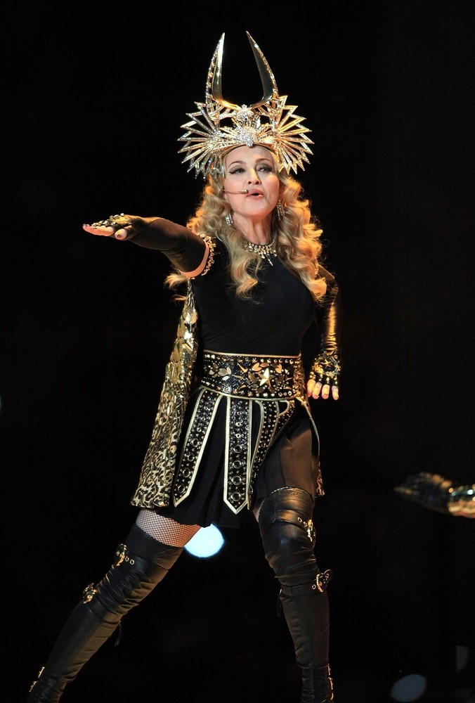 Madonna's Super Bowl Performance [5 February 2012