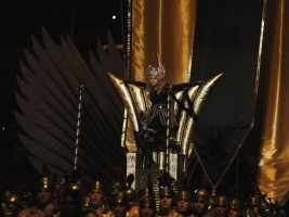Madonna at the Super Bowl Halftime Show - 5 February 2012 - Update 3 (111)