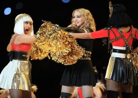 Madonna at the Super Bowl Halftime Show - 5 February 2012 - Update 3 (113)