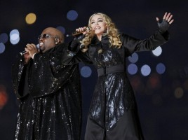 Madonna at the Super Bowl Halftime Show - 5 February 2012 - Update 3 (116)