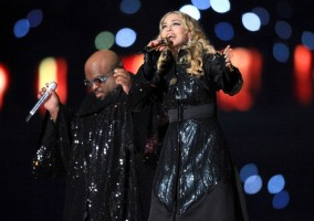 Madonna at the Super Bowl Halftime Show - 5 February 2012 - Update 3 (117)