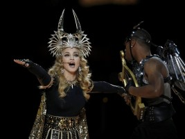 Madonna at the Super Bowl Halftime Show - 5 February 2012 - Update 3 (132)