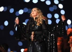 Madonna at the Super Bowl Halftime Show - 5 February 2012 - Update 3 (136)