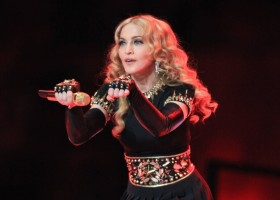 Madonna at the Super Bowl Halftime Show - 5 February 2012 - Update 3 (148)