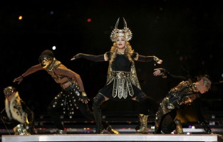 Madonna at the Super Bowl Halftime Show - 5 February 2012 - Update 3 (154)