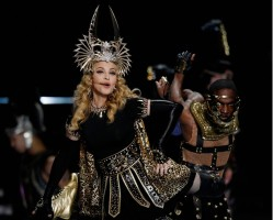 Madonna at the Super Bowl Halftime Show - 5 February 2012 - Update 1 (12)