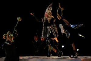 Madonna at the Super Bowl Halftime Show - 5 February 2012 - Update 1 (14)