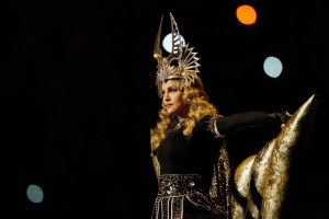 Madonna at the Super Bowl Halftime Show - 5 February 2012 - Update 1 (15)