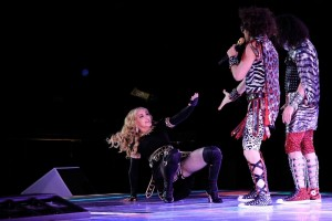 Madonna at the Super Bowl Halftime Show - 5 February 2012 - Update 1 (17)