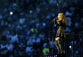 Madonna at the Super Bowl Halftime Show - 5 February 2012 - Update 1 (21)