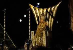 Madonna at the Super Bowl Halftime Show - 5 February 2012 - Update 1 (26)