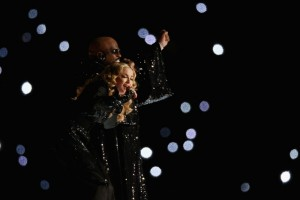 Madonna at the Super Bowl Halftime Show - 5 February 2012 - Update 1 (27)