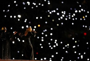 Madonna at the Super Bowl Halftime Show - 5 February 2012 - Update 1 (31)