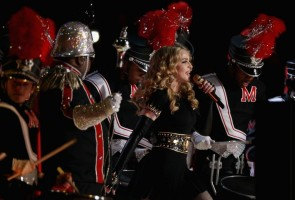 Madonna at the Super Bowl Halftime Show - 5 February 2012 - Update 1 (32)