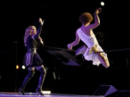 Madonna at the Super Bowl Halftime Show - 5 February 2012 - Update 1 (33)