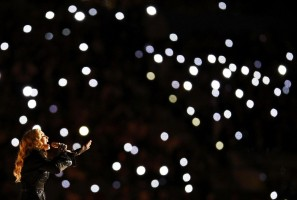 Madonna at the Super Bowl Halftime Show - 5 February 2012 - Update 2 (9)