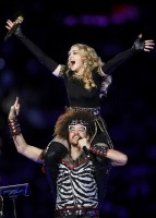 Madonna at the Super Bowl Halftime Show - 5 February 2012 - Update 2 (14)