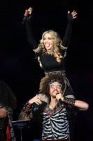 Madonna at the Super Bowl Halftime Show - 5 February 2012 - Update 2 (17)