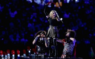 Madonna at the Super Bowl Halftime Show - 5 February 2012 - Update 2 (20)