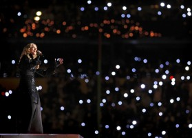 Madonna at the Super Bowl Halftime Show - 5 February 2012 - Update 2 (22)
