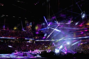 Madonna at the Super Bowl Halftime Show - 5 February 2012 - Update 2 (25)