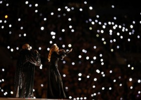 Madonna at the Super Bowl Halftime Show - 5 February 2012 - Update 2 (27)