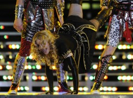 Madonna at the Super Bowl Halftime Show - 5 February 2012 - Update 2 (28)
