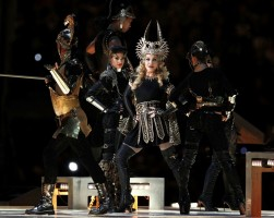 Madonna at the Super Bowl Halftime Show - 5 February 2012 - Update 2 (29)