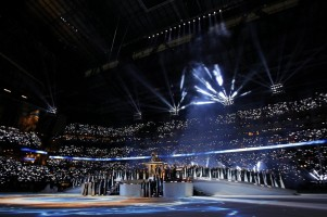 Madonna at the Super Bowl Halftime Show - 5 February 2012 - Update 2 (31)