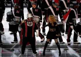 Madonna at the Super Bowl Halftime Show - 5 February 2012 - Update 2 (32)