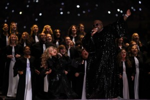 Madonna at the Super Bowl Halftime Show - 5 February 2012 - Update 2 (33)